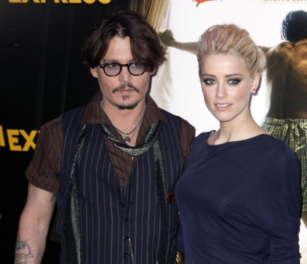 celebrity couples, Johnny Depp, Amber Heard