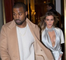 Kim Kardashian and Kanye West Visit Paris: Wedding Plans?