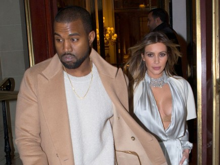 celebrity couples, Kim Kardashian, Kanye West