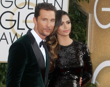 celebrity couples, Matthew McConaughey, Camila Alves
