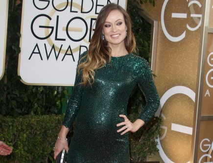 Celebrity Baby Bump Fashion Statements: Olivia Wilde