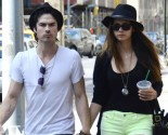 Nina Dobrev and Ian Somerhalder Joke About Awkward Breakup