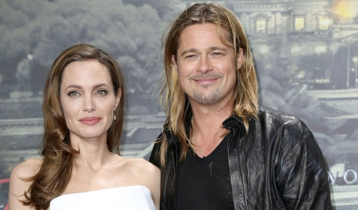 Cupid's Pulse Article: Brad Pitt and Angelina Jolie Enjoy Date Night
