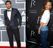 New Celebrity Couple? Rihanna & Drake Spotted Getting Cozy at Concert Afterparty