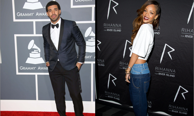 Cupid's Pulse Article: New Celebrity Couple? Rihanna & Drake Spotted Getting Cozy at Concert Afterparty