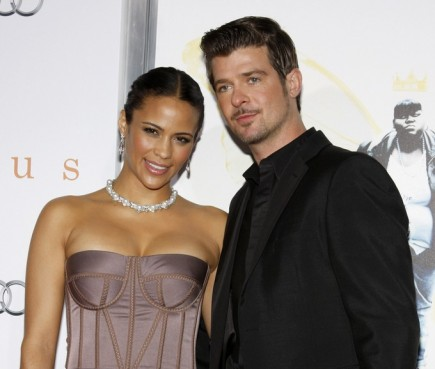 celebrity couples, Paula Patton, Robin Thicke, breakup, split, separation