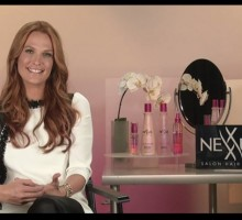 "Celebrity Video Interview: Molly Sims Talks About Her ""Rocking Red"" Hair: ""I Feel Really Good!"""