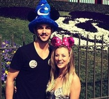 Kaley Cuoco and Ryan Sweeting Take Mini-Honeymoon at Disneyland