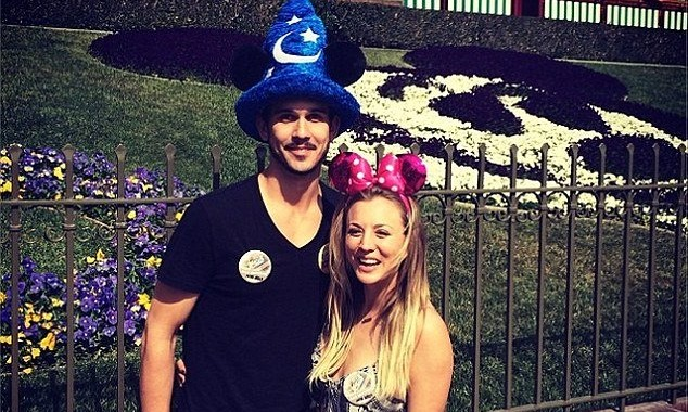 Cupid's Pulse Article: Kaley Cuoco and Ryan Sweeting Take Mini-Honeymoon at Disneyland