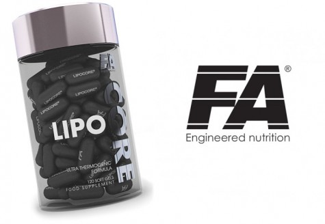 Cupid's Pulse Article: Valentine's Day Giveaway 14: Lipocore Fat Burner by FA Engineered Nutrition