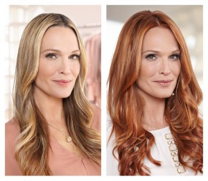 "Cupid's Pulse Article: Molly Sims Talks About Her ""Rocking Red"" Hair: ""I Feel Really Good!"""