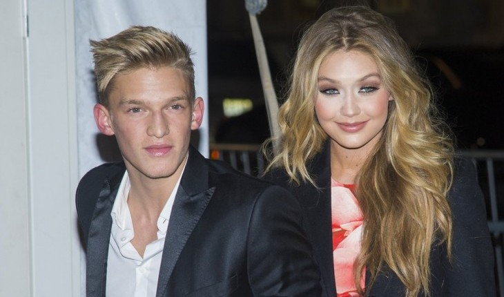 Cody Simpson and Gigi Hadid. Photo: MJ Photos / PRPhotos.com