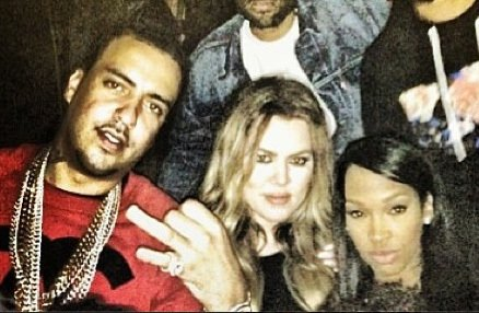 Cupid's Pulse Article: Khloe Kardashian and French Montana Go Public with New Relationship