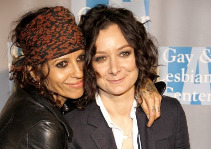 celebrity couples, Sara Gilbert, Linda Perry