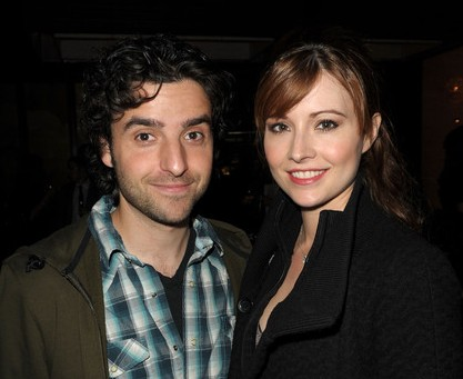 celebrity couples, David Krumholtz, Vanessa Britting