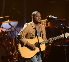 "'American Idol' Contestant C.J. Harris Says Family's Support ""Puts Me at Peace"""