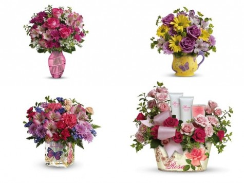 Cupid's Pulse Article: Surprise Your Mom With a Teleflora Bouquet for Mother's Day!