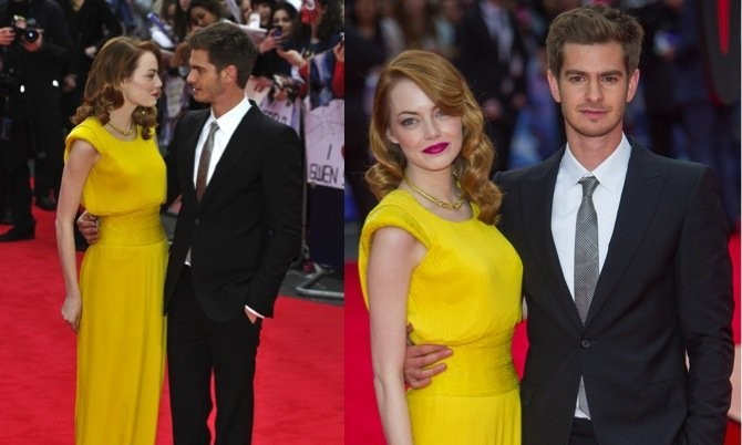 Cupid's Pulse Article: Celebrity Exes Emma Stone & Andrew Garfield Are Spotted Together Post-Split