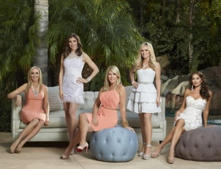 Shannon Beador, Heather Dubrow, Vicki Gunvalson, Tamra Barney, and Lizzie Rovsek. Photo: Rudy Martinez/Bravo Media