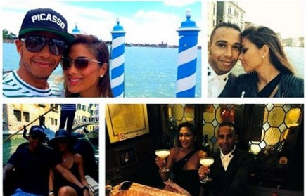 Cupid's Pulse Article: Nicole Sherzinger and Lewis Hamilton Share 6th Anniversary Pics