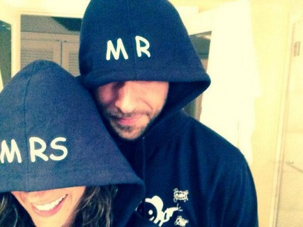 Missy Peregrym and Zachary Levi. Photo: Courtesy Missy Peregrym/Instagram