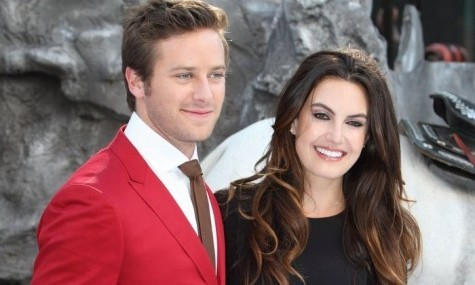 Cupid's Pulse Article: Armie Hammer and Wife Prepare For First Baby