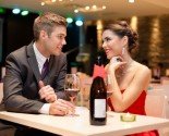 Date at a fancy restaurant. Photo:  luckybusiness / Bigstock.com