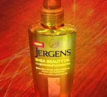 Enhances Skin's Radiance With New Jergens Shea Beauty Oil