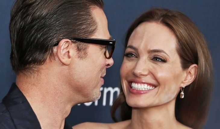 Brad Pitt and Angelina Jolie. Photo: Laurence Agron / PRPhotos.com