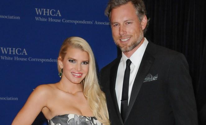 Jessica Simpson and Eric Johnson. Photo: Aaron J. Thorton / PRPhotos.com