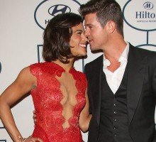 Did Robin Thicke and Paula Patton's Body Language Indicate A Split Was Coming?