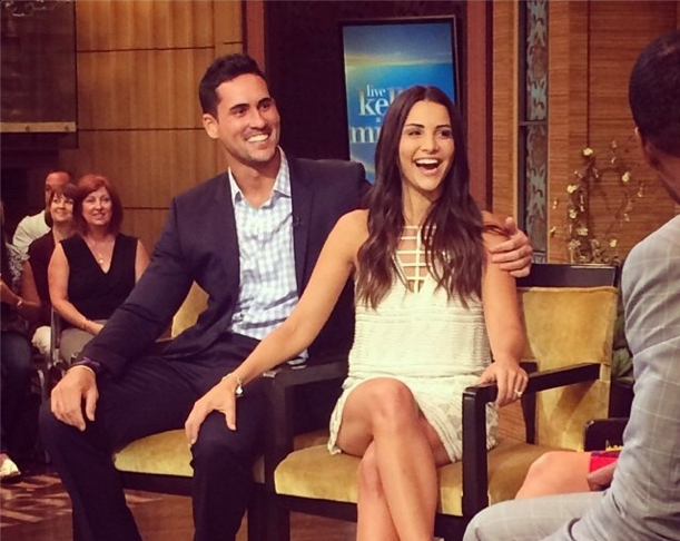 Andi Dorfman with her new fiancé Josh Murray. Photo courtesy of Andi's Instagram.