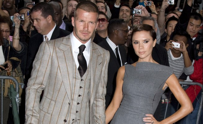 Cupid's Pulse Article: Celebrity Couple: Victoria Beckham & David Beckham 'Very Touchy' Before 20th Anniversary