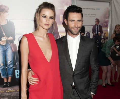 "Behati Prinsloo and Adam Levine Wedding ""Begin Again"" New York City Premiere - Arrivals"