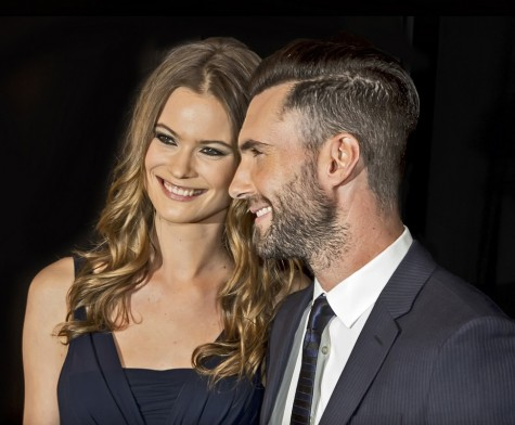 "Behati Prinsloo and Adam Levine Upcoming Wedding 2014 Tribeca Film Festival - Closing Night Gala Premiere of ""Begin Again"""