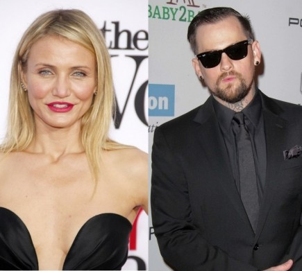 Cameron Diaz and Benji Madden. Photo: David Gabber / PRPhotos.com