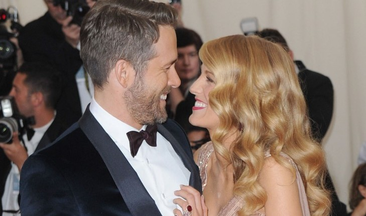 Cupid's Pulse Article: Celebrity News: Ryan Reynolds Gushes Over Blake Lively at Met Gala 2017