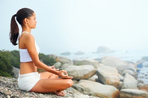 Woman meditating. Photo: warrengoldswain / Bigstock.com