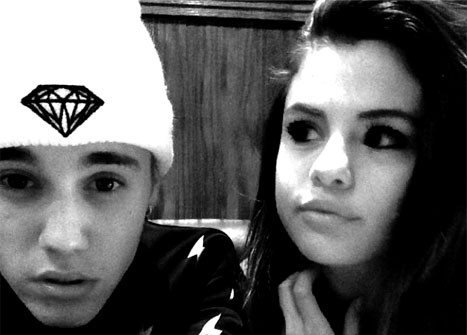 Justin Bieber and Selena Gomez snuggled up in Canada. Photo: Instagram