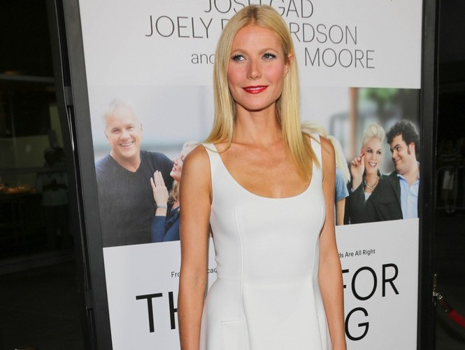 Gwyneth Paltrow is on good terms with ex Chris Martin. Photo: Andrew Evans  / PR Photos