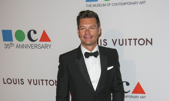 Cupid's Pulse Article: Celebrity News: Ryan Seacrest Says Kelly Ripa Encourages Him to Elope