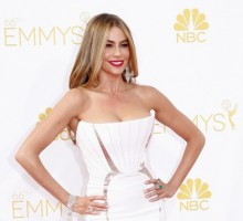 Sofia Vergara Sends Picture Message to Missing Joe Manganiello at Emmy's After Party