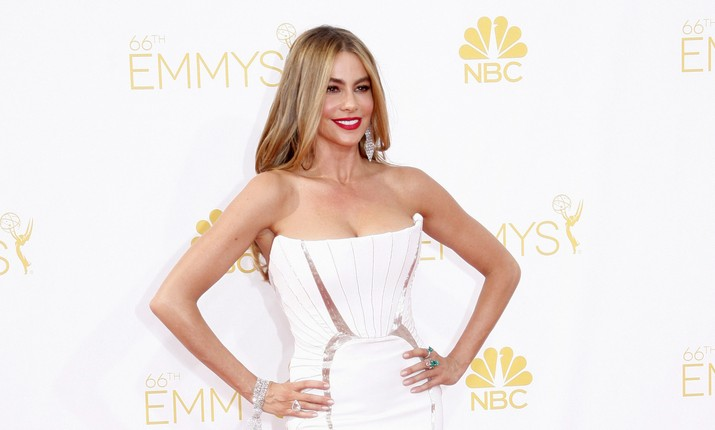 Cupid's Pulse Article: Sofia Vergara Sends Picture Message to Missing Joe Manganiello at Emmy's After Party
