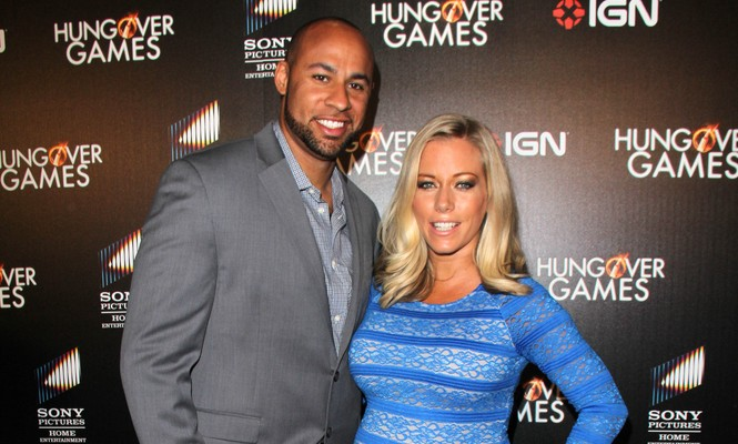 Hank Baskett and Kendra Wilkinson are rumored to be divorcing. Photo: Janice Ogata / PRPhotos.com