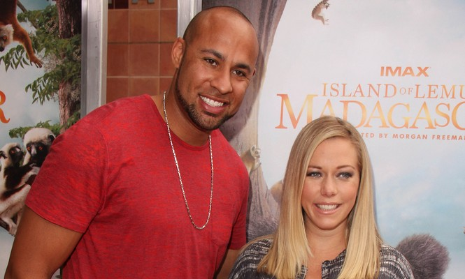 Hank Baskett and Kendra Wilkinson will have to co-parent if they get divorced. Photo: Janice Ogata / PRPhotos.com