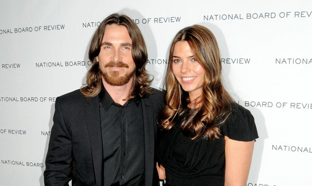Christian Bale and Sibi Bale. Photo: