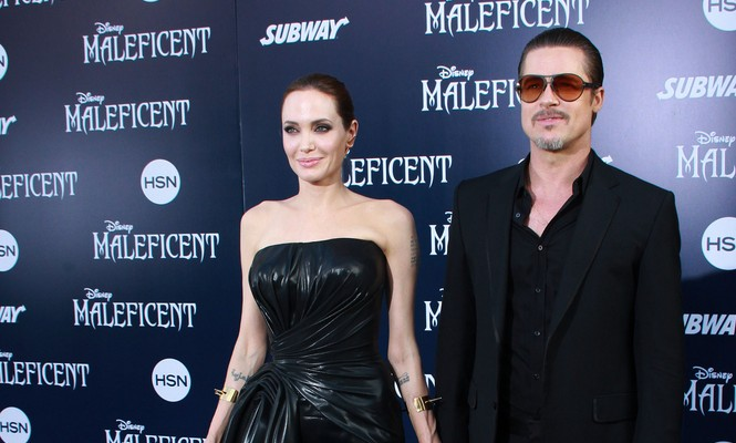 Cupid's Pulse Article: Celebrity Couple Angelina Jolie and Brad Pitt Tie the Knot!