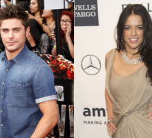 Zac Efron and Michelle Rodriguez Amp Up PDA in Spain