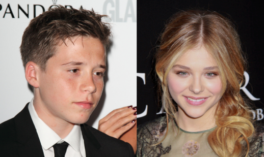 Cupid's Pulse Article: The Celebrity Couple to Melt All Hearts: Chloe Grace Moretz and Brooklyn Beckham
