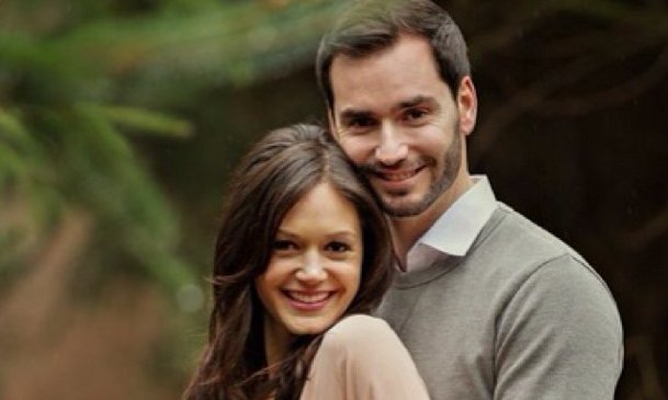 Desiree Hartsock and Chris Siegfried prepare for their wedding. Photo courtesy of Desiree Hartsock's Instagram.